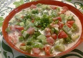 Salade de tomates au tahini