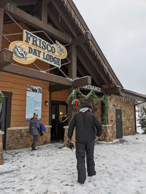 Frisco Adventure Park for tubing for winter vacation