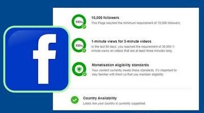 syarat dan ketentuan ad break facebook creator