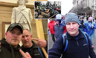 Two Virginia police officers are charged after taking a selfie during Capitol riot