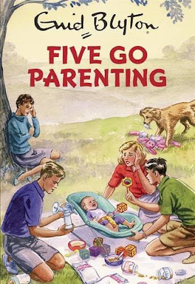 Books, Review, Enid Blyton, Famous Five, Enid Blyton for Grown-Ups, Five Go Parenting, Bruno Vincent, Quercus, The Writing Greyhound, Lorna Holland