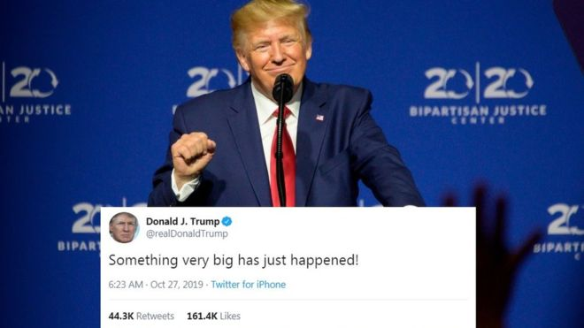 Trump: Is the US president going to make a big announcement?