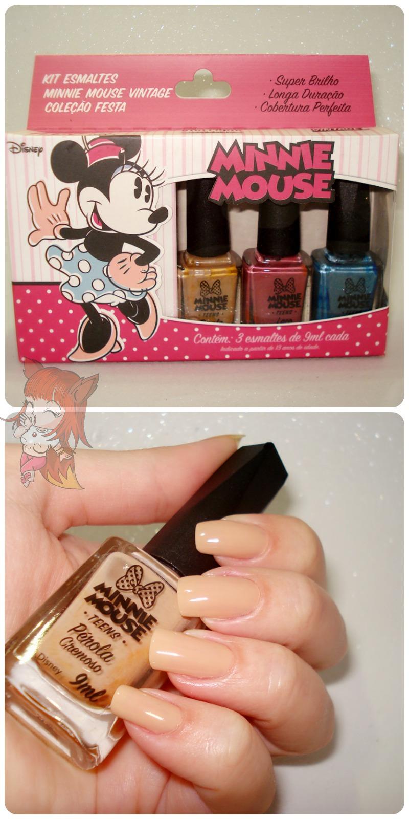 Esmalte Minnie Mouse :: Pérola - Resenha