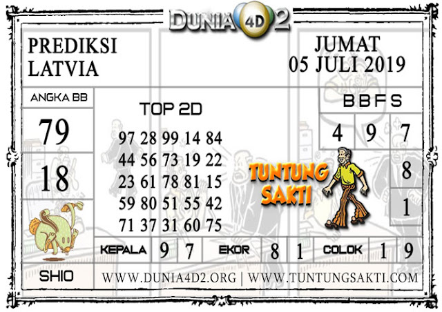 "Prediksi Togel ""LATVIA"" DUNIA4D2 05 JULI 2019"