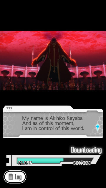 Nazywam się Akihiko Kayaba. I od teraz, kontroluję ten świat.