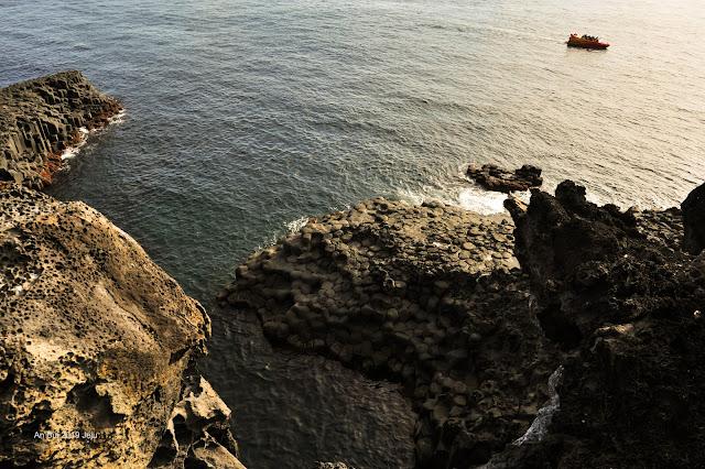 Gành đá đĩa ở Jeju - Jusangjeolli