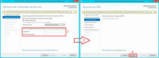No se puede crear una delegación para este servidor DNS porque la zona principal autoritativa no se encuentra.