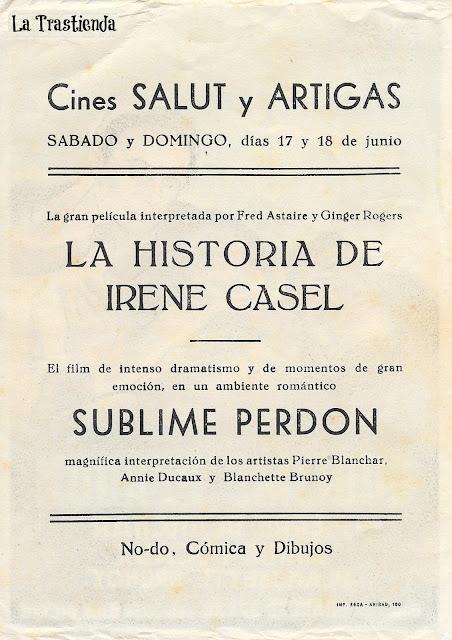 Programa de Cine - Sublime Perdón - Pierre Blanchar - Annie Ducaux