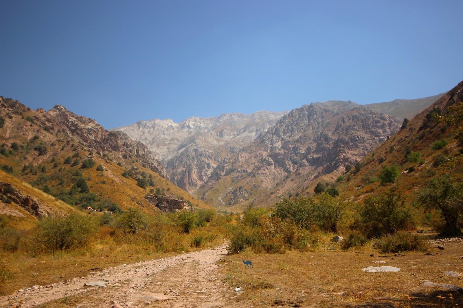 Le Chameau Bleu - Les montagnes de Chimgan - Voyage en Ouzbékistan