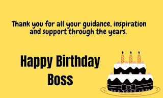 inspirational birthday wishes for boss