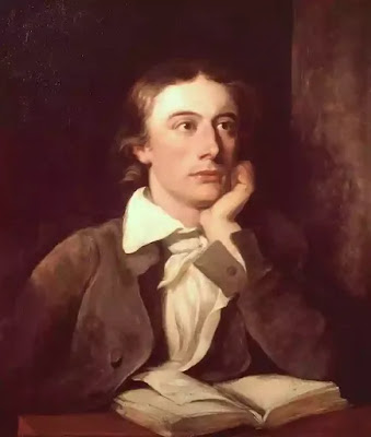 Keats delighted in the contemplation of the beauties of Nature and life.