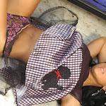 Andrea Rincon, Selena Spice Galeria 15: Vestido Cafe, Falda a Cuadros Foto 95