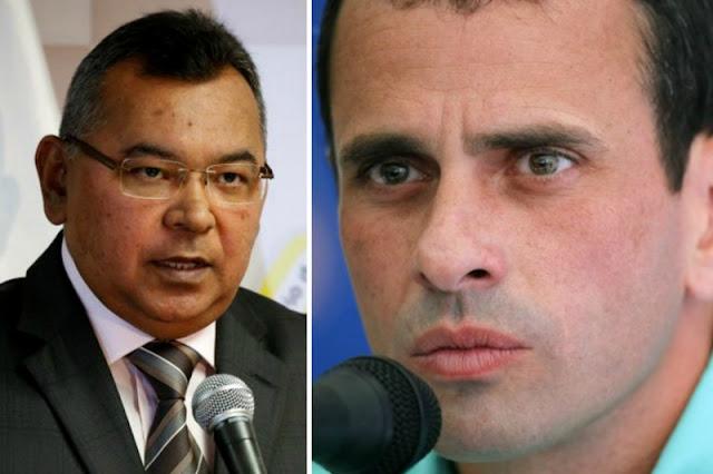 Orden de captura contra Henrique Capriles Radonski