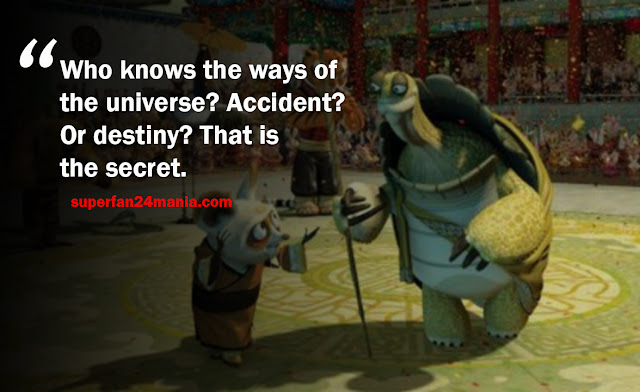 """""""Who knows the ways of the universe? Accident? Or destiny? That is the secret."""""""