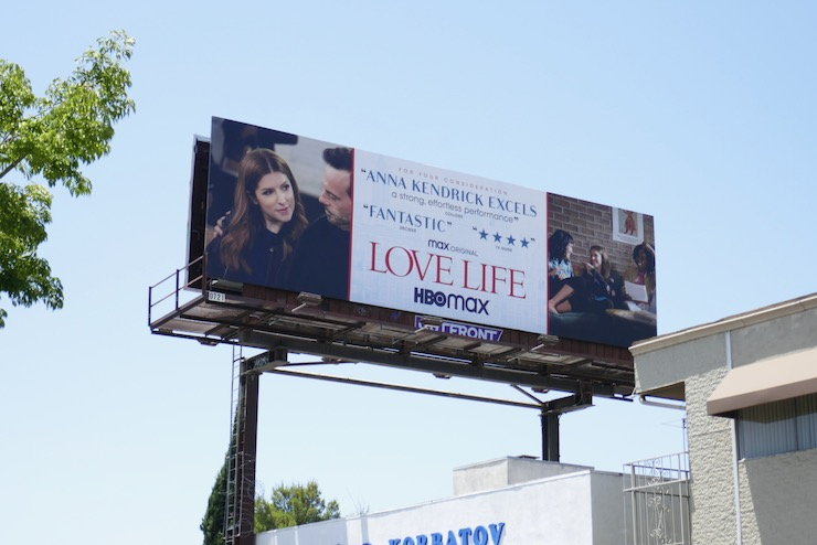 Love Life season 1 Emmy FYC billboard