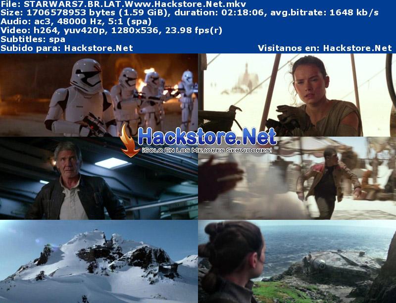 Capturas de Star Wars: El despertar de la Fuerza (2016) Blu-Ray RIP HD Latino