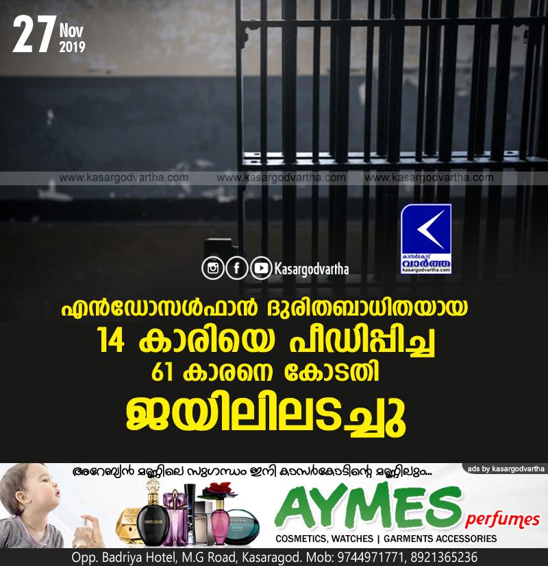 Kasaragod, Kerala, news, Cheruvathur, Top-Headlines, Crime, Molestation, court, Molestation case accused remanded
