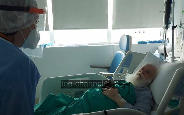 Στη Μονάδα Εντατικής Θεραπείας του «Ευαγγελισμού» και σε σταθερή κατάσταση συνεχίζει να νοσηλεύεται ο Αρχιεπίσκοπος Αλβανίας Αναστάσιος.