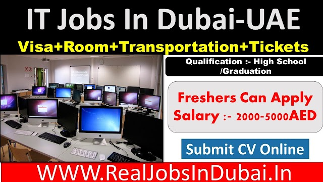 IT Jobs In Dubai - UAE 2021