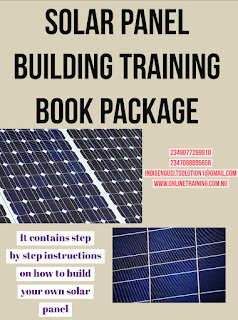 Solar Panel Building Training For Nigeria
