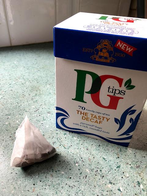 PG Tips - The Tasty Decaf tea