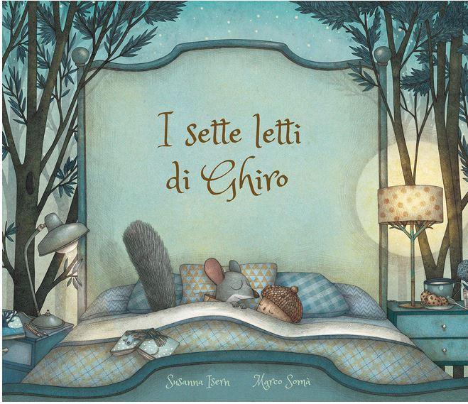 Letti Per Bambini Di 3 Anni.I Sette Letti Di Ghiro Libri Per Bambini Di 3 Anni