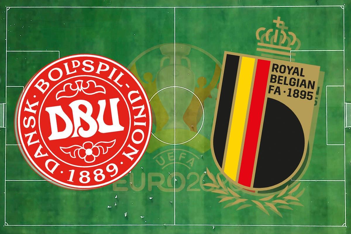 مشاهدة مباراة بلجيكا والدنمارك اليوم