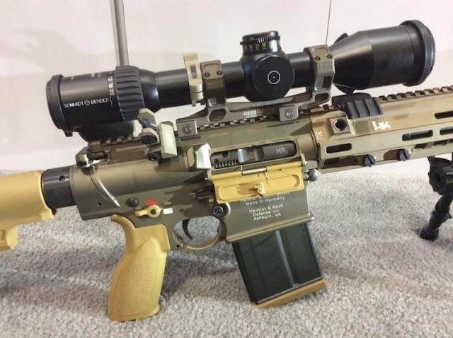 Lính bắn tỉa trên không của Quân đội Hoa Kỳ thử nghiệm loại súng trường mới có độ chính xác cao
