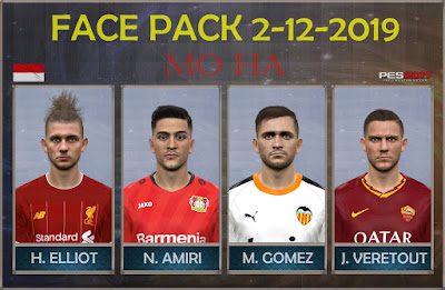 PES 2017 Facepack 2-12-2019 by Mo Ha