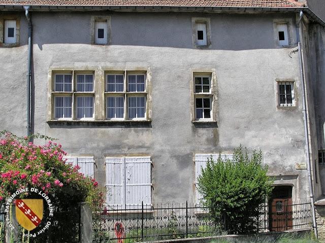 VIC-SUR-SEILLE (57) - Château épiscopal