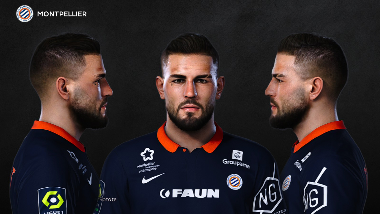 PES 2021 Andy Delort Face by Prince Hamiz