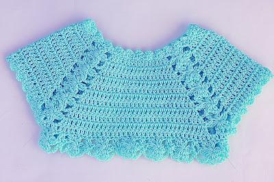 5 - Crochet Imagen Lindo bolero a crochet y ganchillo muy fácil y sencillo por Majovel Crochet.