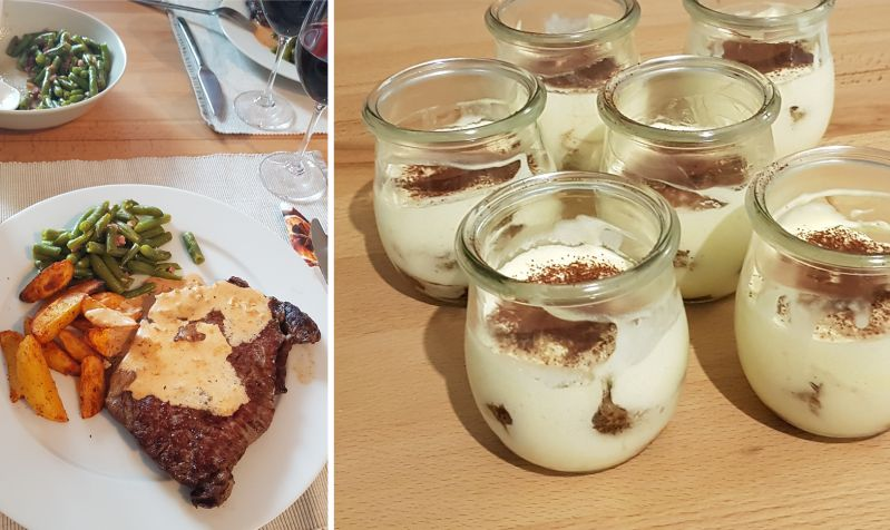 Tiramisu - Home cooking