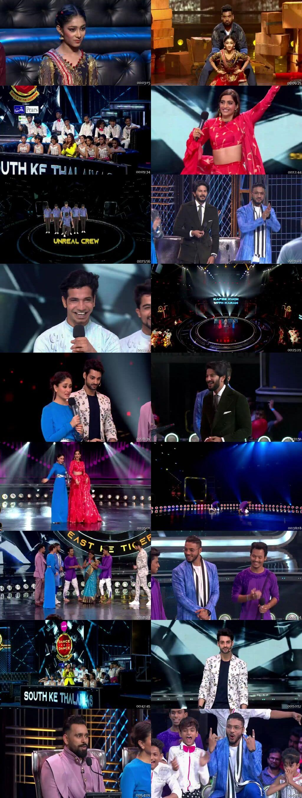 Screenshots Of Hindi Show Dance India Dance Battle of the Champions Season 7 14th September 2019 Episode 25 300MB 480P HD
