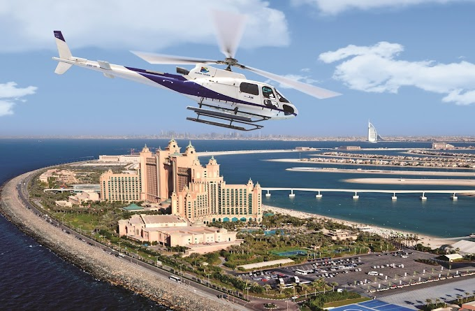 Book Fly High Dubai Helicopter Service or Tours