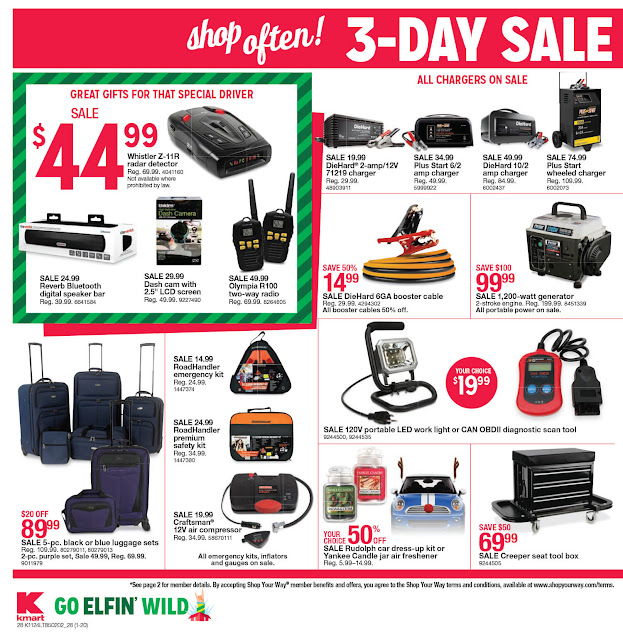Kmart Black Friday 2016 tools ad