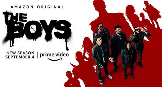 Clip de avance de 3 minutos de la segunda temporada de 'The Boys'