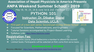 Python Summer School 2019