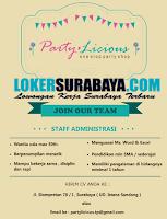 Info Lowongan Kerja Surabaya di Party Licious Terbaru November 2019
