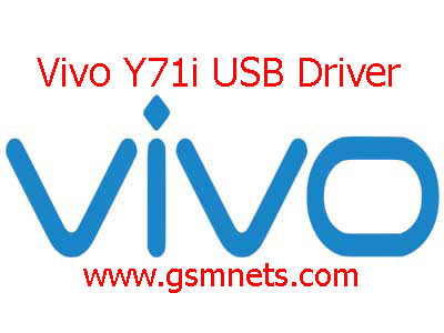 Vivo Y71i USB Driver Download