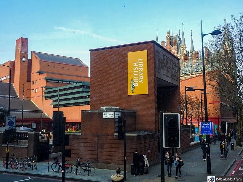 Biblioteca Britânica - O que fazer em Londres: 48 atrações imperdíveis