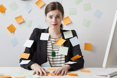 Estrés y productividad trabajo