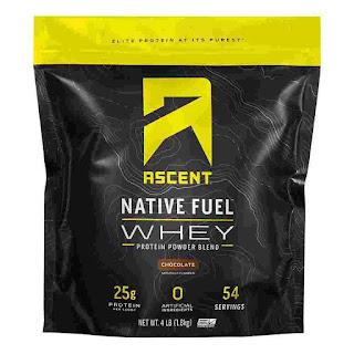 Native Fuel Whey Protein Powder, Vanilla Bean