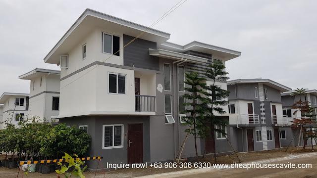 Garden Villas Duplex Cheap Houses for sale in Tanza Cavite