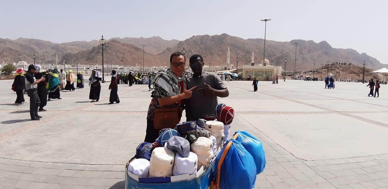 jabal uhud saksi sejarah perang uhud nurul sufitri travel lifestyle blogger umroh alhijaz indowisata saudi arabia