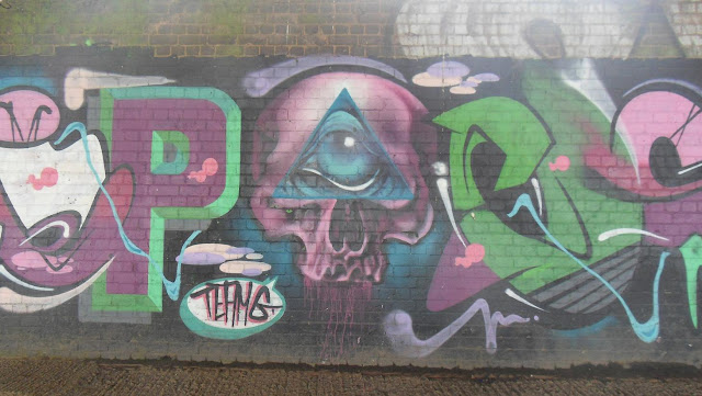 All Seeing Eye Occult Graffiti