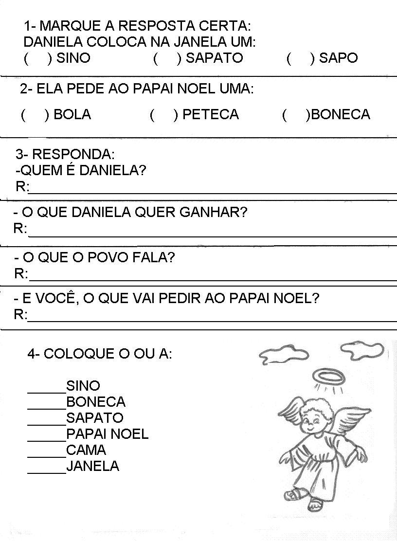 Blog Professor Zezinho Provas Testes Avaliacoes 2 Ano
