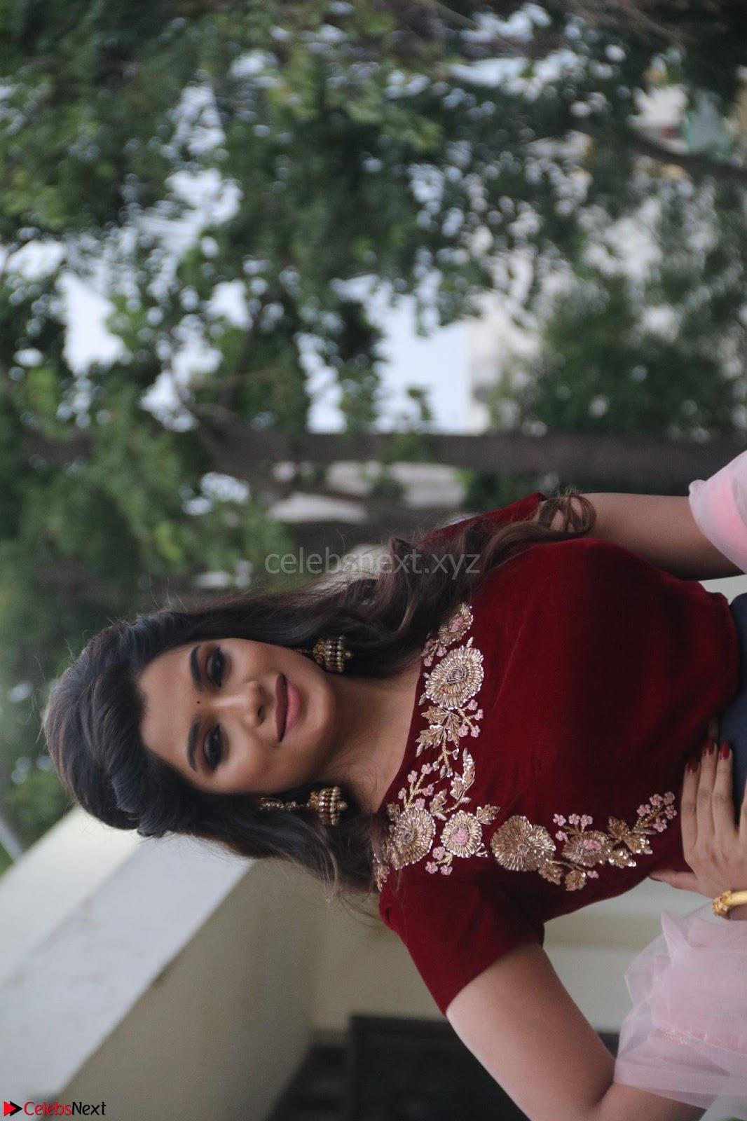 Actress Aathmika in lovely Maraoon Choli ~ CelebsNext Exclusive Celebrities galleries