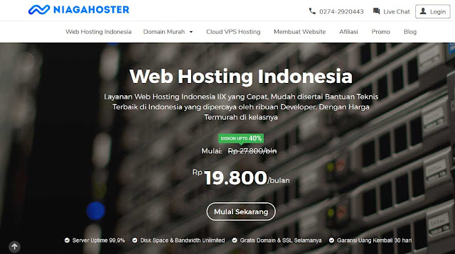 Review Niagahoster Hosting