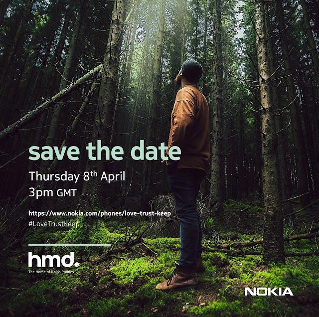 Nokia Mobile Launch Event Invite